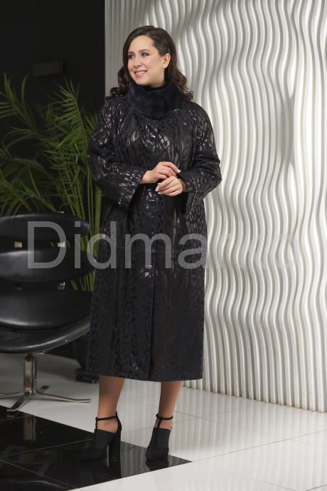 Купить Женское пальто из замши с принтом  леопарда в Москве и Санкт-Петербурге
