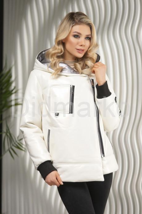 Купить Белоснежный кожаный пуховик на зиму в Москве и Санкт-Петербурге