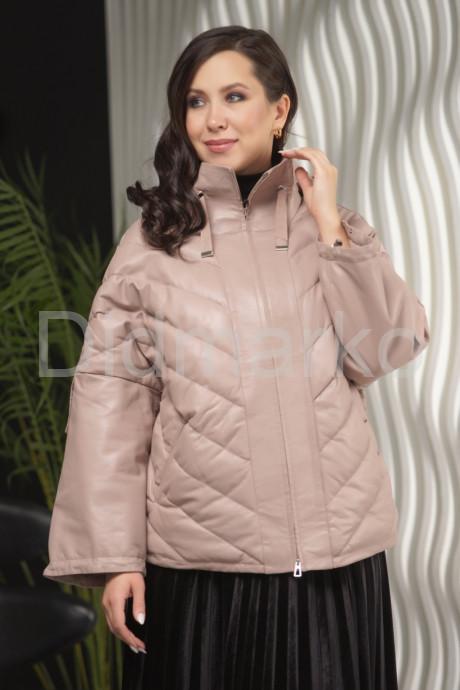 Купить Демисезонная кожаная куртка больших размеров Весна 2021 в Москве и Санкт-Петербурге