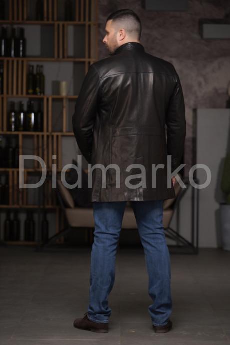 Мужской кожаный френч