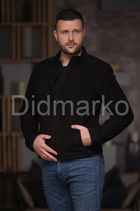 Купить Весенняя мужская куртка из замши в Москве и Санкт-Петербурге