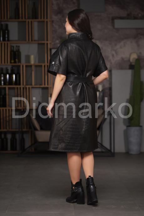 Кожаный жилет под  кроку