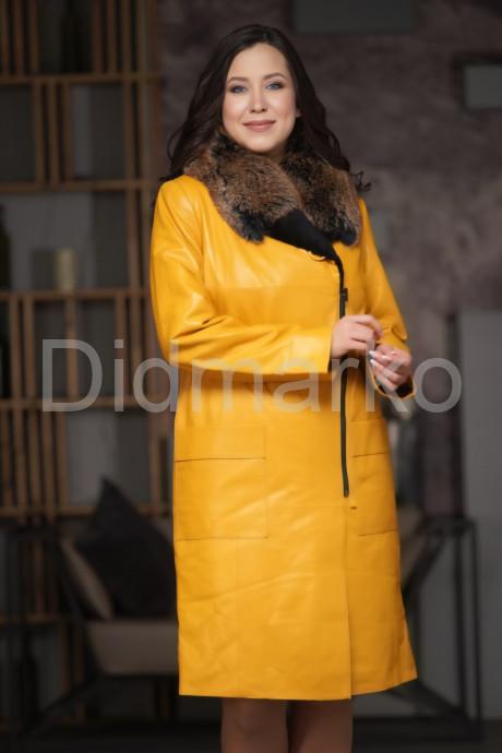 Купить Яркое утепленное пальто в Москве и Санкт-Петербурге