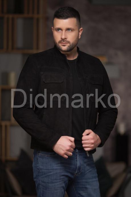 Купить Замшевая мужская куртка в Москве и Санкт-Петербурге