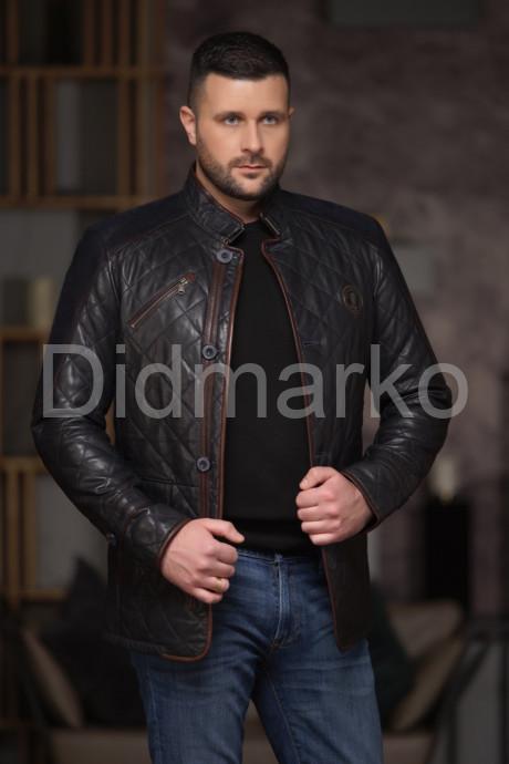 Утепленный стеганный мужской пиджак