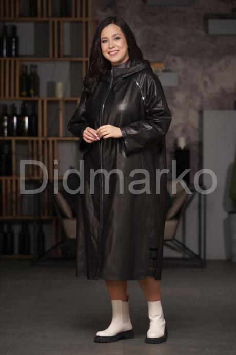 Купить Двусторонний кожаный плащ с капюшоном в Москве и Санкт-Петербурге