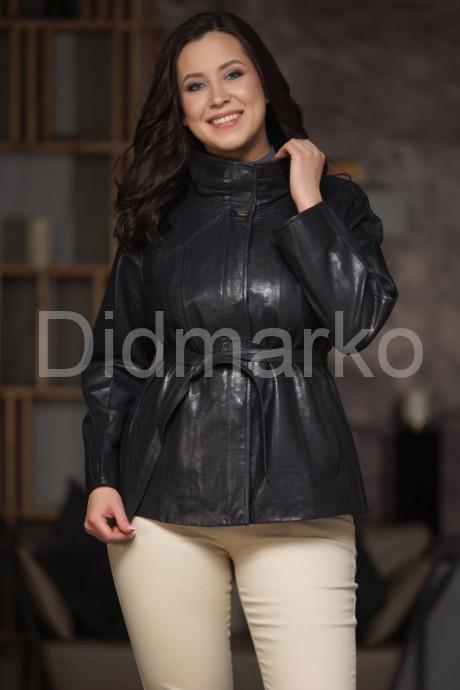 Купить Изящная кожаная куртка перфорированная в Москве и Санкт-Петербурге