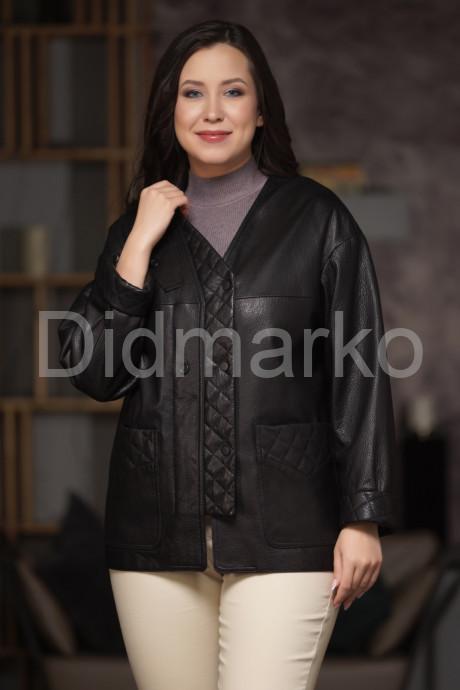 Купить Стильная кожаная куртка на весну-осень в Москве и Санкт-Петербурге